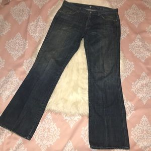 """7 For All Mankind Men's """"A"""" Pkt Bootcut Jeans"""